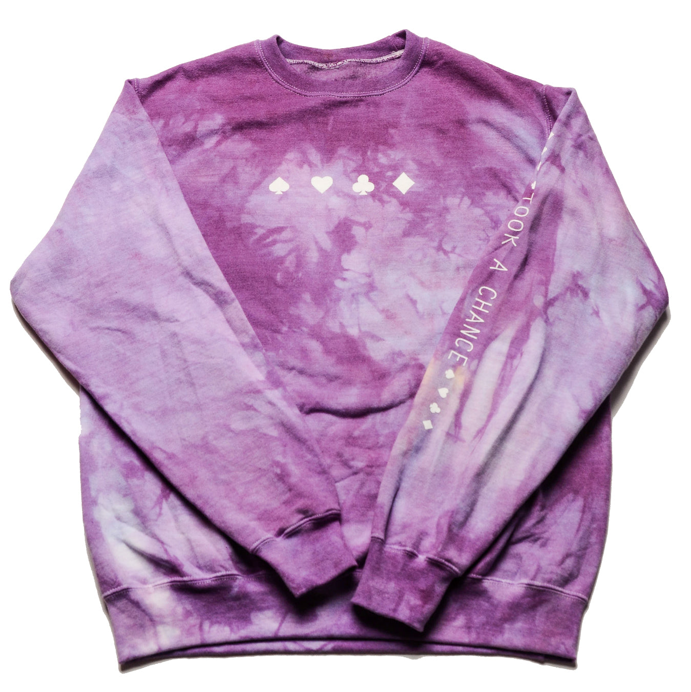 Royale Dyed Took A Chance Crewneck