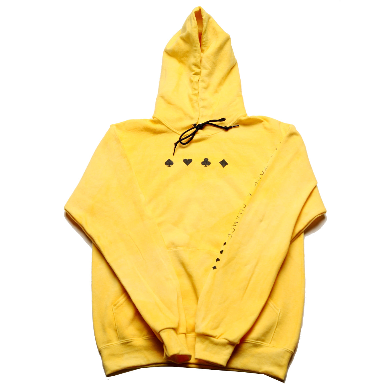 Yellow Dyed Took A Chance Hoody