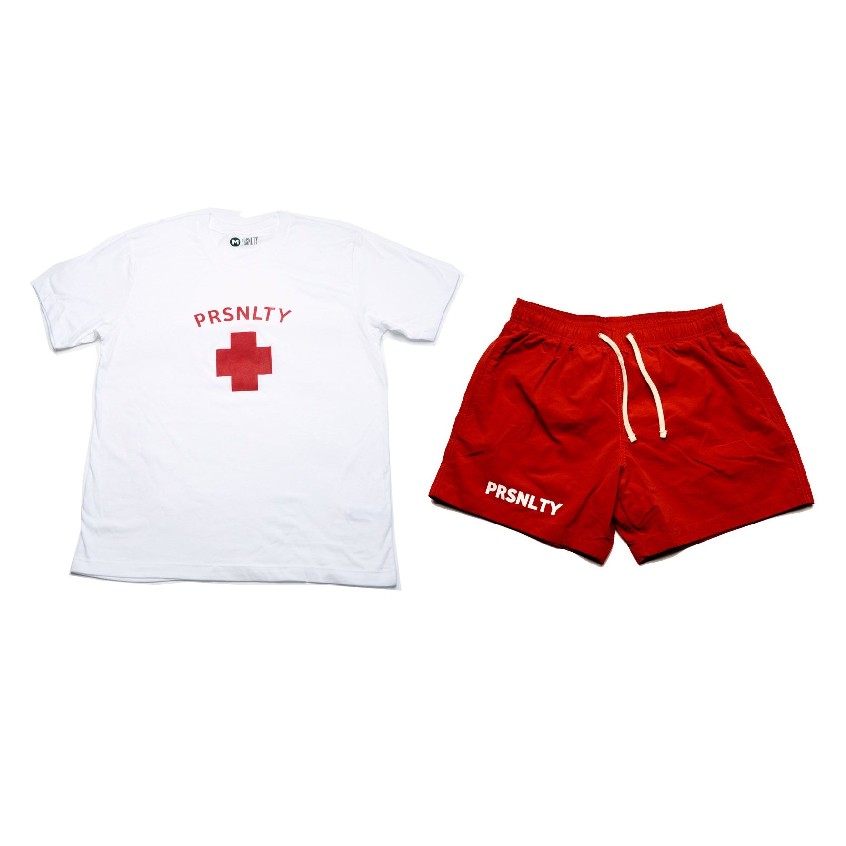 Red PRSNLTY Lifeguard Fit