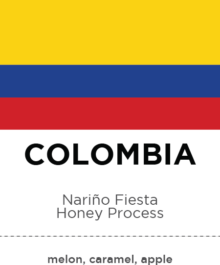 Colombia Nariño Fiesta Honey
