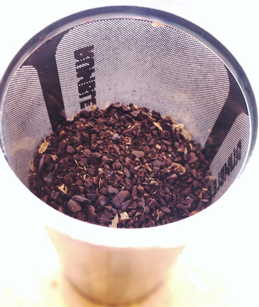 image of Rumble Jar Filter with coffee inside