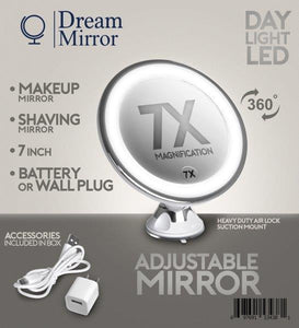 2. Dream Mirror Makeup Mirror Or Shaving Mirror