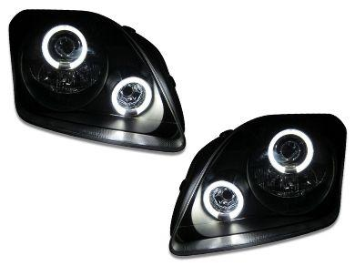 Angel Eye HALO Projector CCFL Head Lights for Honda Prelude - Black (1996 - 2001 Models) - Spoilers And Bodykits Australia