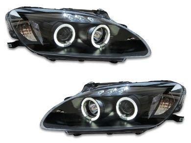 Angel Eye HALO Projector Head Lights for Honda S2000 AP1 - Black (1999 - 2001 Models) - Spoilers And Bodykits Australia