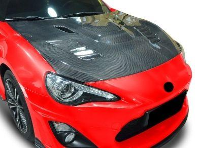 Carbon Fibre Bonnet for Toyota 86 / Subaru BRZ - Vented (2012 - 2020 Models)