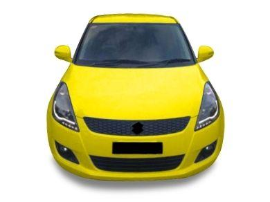 DRL Projector Head Lights for Suzuki Swift - Black (2011 - 2016 Models) - Spoilers And Bodykits Australia