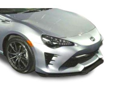 Front Bumper Bar Lip  Splitter for Toyota 86 - GT Style (2017 - 2019 Models) - Spoilers And Bodykits Australia