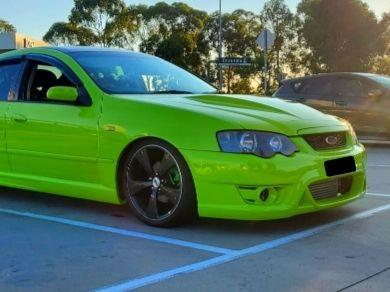Front Bumper Bar for BA / BF XR Ford Falcon - Typhoon Style - Spoilers and Bodykits Australia