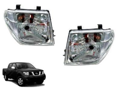 Head Lights for D40 Nissan Navara / Pathfinder R51 (12/2005 - 06/2007 Models) - Spoilers And Bodykits Australia