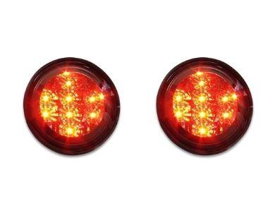 LED Boot Lights for Lexus IS200  IS300 & Toyota - Smoked Red Lens (1999 - 2005 Models) - Spoilers And Bodykits Australia