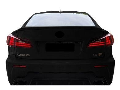 LED Light Bar Tail Lights for Lexus IS250  IS350  ISF - ClearRed (2005 - 2013 Models) - Spoilers And Bodykits Australia