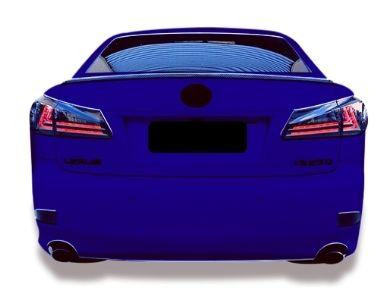 LED Light Bar Tail Lights for Lexus IS250  IS350  ISF - Smoked Lens (2005 - 2013 Models) - Spoilers And Bodykits Australia