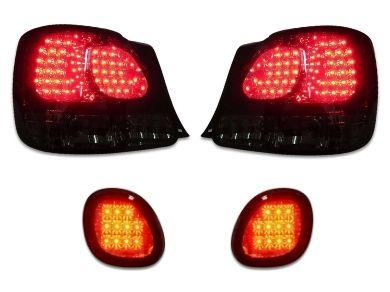 LED Tail Lights & Boot Lights for Lexus GS300  GS400  GS430 - Smoked Red Lens (1998 - 2005 Models) - Spoilers And Bodykits Australia