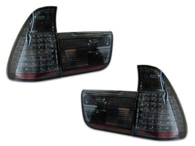 LED Tail Lights for BMW X5 E53 - Smoked Lens (1999 - 2002 Models) - Spoilers And Bodykits Australia