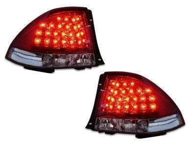 LED Tail Lights for Lexus IS200  IS300 & Toyota - ClearRed (1999 - 2005 Models) - Spoilers And Bodykits Australia