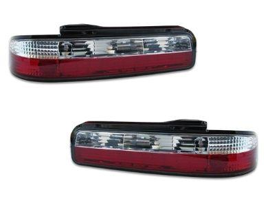 LED Tail Lights for Nissan Silvia S13 - ClearRed (1989 - 1993 Models) - Spoilers And Bodykits Australia