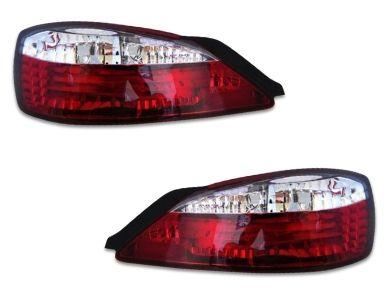 LED Tail Lights for Nissan Silvia S15 200SX - Crystal ClearRed (1999 - 2002 Models) - Spoilers And Bodykits Australia
