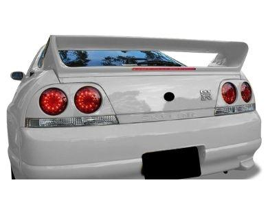 LED Tail Lights for R33 Nissan Skyline Coupe GTR  GTST - Smoked Red Lens (1995 - 1998 Models) - Spoilers And Bodykits Australia