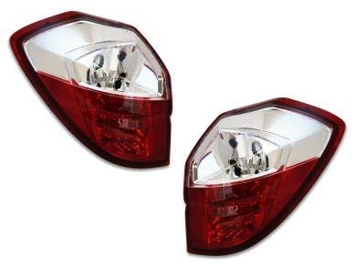 LED Tail Lights for Subaru Liberty Legacy Outback - ClearRed Lens (2003 - 2009 Models) - Spoilers And Bodykits Australia