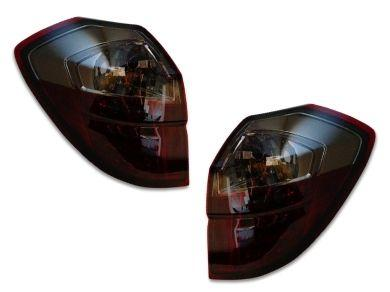 LED Tail Lights for Subaru Liberty Legacy Outback - Red Smoked Lens (2003 - 2009 Models) - Spoilers And Bodykits Australia