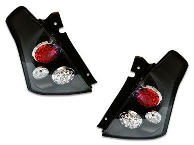 LED Tail Lights for Suzuki Swift - Black - Altezza Style (2004 - 2010 Models) - Spoilers And Bodykits Australia