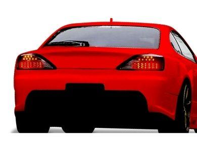 LED Tail Lights with Sequential Indicators for Nissan Silvia S15 200SX - Smoked Lens (1999 - 2002 Models) - Spoilers And Bodykits Australia