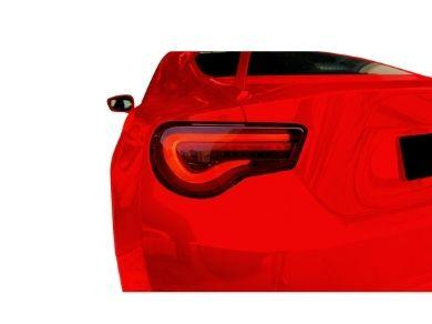 LED Tail Lights with Sequential Indicators for Toyota 86  Subaru BRZ - Smoked Red Lens (2012 - 2019 Models) - Spoilers And Bodykits Australia