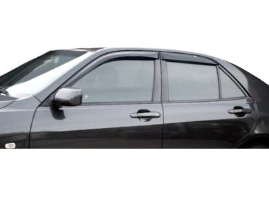 Weather Shields for Lexus IS200 / IS300 Sedan (1998 - 2005 Models) - Spoilers and Bodykits Australia