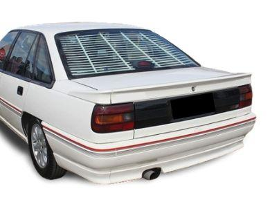 Rear Boot Spoiler for VN  VP Holden Commodore Sedan - VN SS Style - 3 Piece - Spoilers And Bodykits Australia