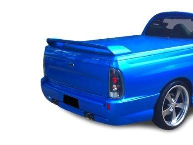 Rear Bumper Bar for AU  BA  BF Ford Falcon Ute for DUAL Exhaust - Pursuit Style - Spoilers And Bodykits Australia