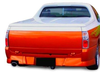 Rear Bumper Bar for VU  VY  VZ Holden Commodore Ute - VU Style - WITH Numberplate Recess - Spoilers And Bodykits Australia