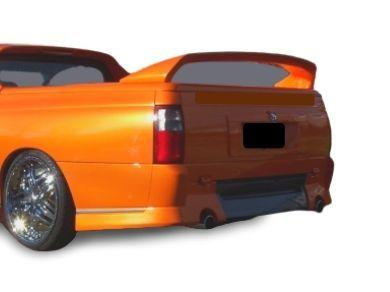 Rear Bumper Bar for VU  VY  VZ Holden Commodore Ute - VY Style - WITHOUT Numberplate Recess - Spoilers And Bodykits Australia