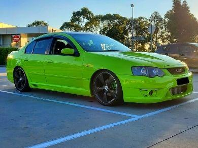 Side Skirts for BA / BF Ford Falcon Sedan - GT Style - Spoilers and Bodykits Australia