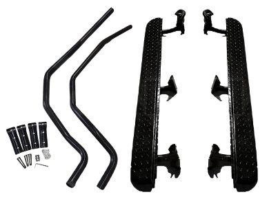 Side Steps & Brush Bars for Isuzu D-MAX Dual Cab in Heavy Duty Steel (2012 - 2020 Models) - Spoilers And Bodykits Australia