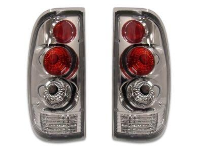 Tail Lights for BA  BF Ford Falcon Ute XR6  XR8 - Chrome - Altezza Style - Spoilers And Bodykits Australia