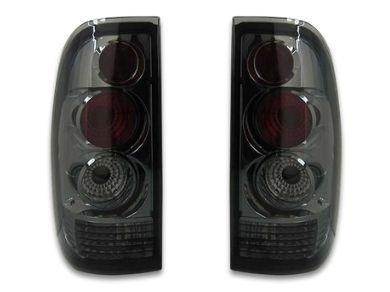 Tail Lights for BA  BF Ford Falcon Ute XR6  XR8 - Smoked Lens - Altezza Style - Spoilers And Bodykits Australia