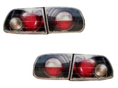Tail Lights for Honda Civic EG 3-Door Hatch - Black - Altezza Style (1992 - 1995 Models) - Spoilers And Bodykits Australia
