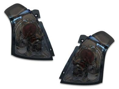 Tail Lights for Suzuki Swift - Altezza Style - Smoked Lens (2004 - 2010 Models) - Spoilers And Bodykits Australia