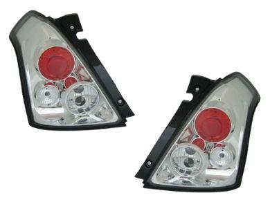Tail Lights for Suzuki Swift - Chrome - Altezza Style (2004 - 2010 Models) - Spoilers And Bodykits Australia