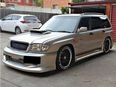 Bodykit for Subaru Forester (1997 - 2002 Models) - Spoilers and Bodykits Australia