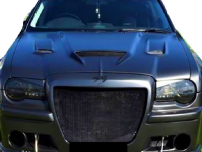 Bonnet for 300C Chrysler Gen 1 - Hellcat Style (2005 - Early 2011 Models) (Road Legal Certified) - Spoilers and Bodykits Australia