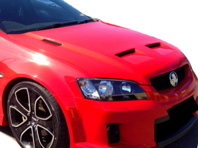 Bonnet for VE Holden Commodore - Vented Sports Style (Road Legal Certified) - Spoilers and Bodykits Australia