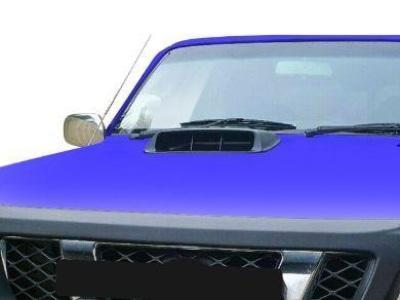 Bonnet Scoop for GU Nissan Patrol with Extra Large Higher Intake - Spoilers and Bodykits Australia