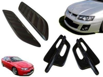 Bonnet Vents + Guard Flutes + Bonnet Garnish for VZ Holden Commodore - Spoilers and Bodykits Australia