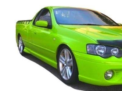 Cabin Side Skirts ONLY for BA / BF Ford Falcon Ute - XR Style - Spoilers and Bodykits Australia