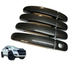 Door Handle Covers for PX 1 & PX 2 Ford Ranger - Carbon Fibre Finish (2012 - 2018) - Spoilers and Bodykits Australia
