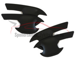 Door Handle Inserts for PX 1 / PX 2 Ford Ranger - Black (2012 - 2018) - Spoilers and Bodykits Australia