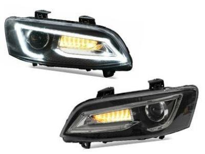 DRL LED Head Lights for VE Holden Commodore with Sequential Indicators (Series 1 & 2) - Spoilers and Bodykits Australia
