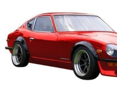 Flares for Datsun 240Z / 260Z / 280Z (Set of 4) - Spoilers and Bodykits Australia