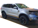 Flares for Ford Everest - High Quality Poly Propylene Matt/Gloss Black Finish (Set of 4) (2015 - 2018 Models) - Spoilers and Bodykits Australia